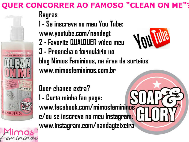 CLEANONME-SORTEIO2
