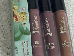 Resenha batons PPF Duffy, Hermione e Jasmine by TBlogs