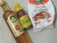 Vinagre de maçã, mel e farinha de arroz para a pele