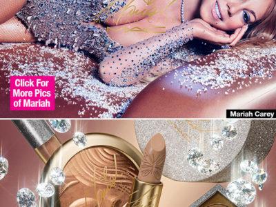 Mariah Carey lança coleção de Natal pela MAC! Eu quero!