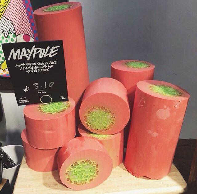 sabonete Maypole, da LUSH