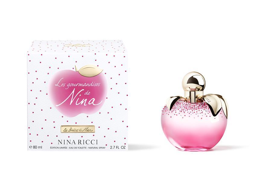 Nina Ricci lança perfumes Les Gourmandises de Nina e Les Gourmandises de Luna